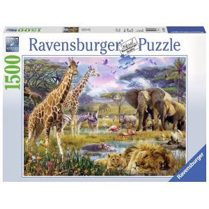 Ravensburger - 16333 - Puzzle 1500 pièces - Afrique multicolore (341394)