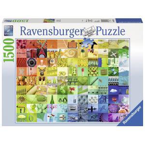 Ravensburger - 16322 - Puzzle 1500 pièces - 99 belles couleurs (341396)