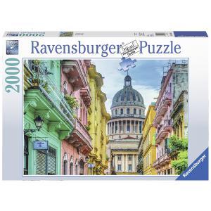 Ravensburger - 16618 - Puzzle 2000 pièces - Cuba multicolore (341400)
