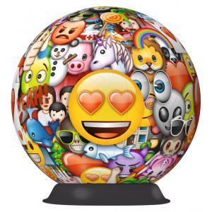 Ravensburger - 12198 - 3D Puzzles ronds - 72 pièces - Emoji (341424)