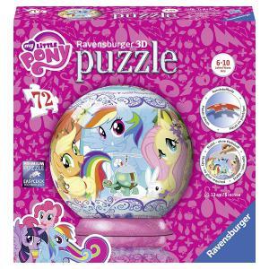 Ravensburger - 11824 - 3D Puzzles ronds - 72  pièces  - Mon petit poney (341432)