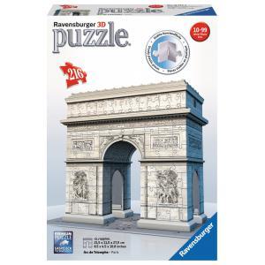 Ravensburger - 12514 - 3D puzzle Building 216 pièces - Arc de Triomphe (341448)