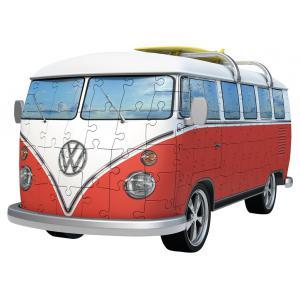Ravensburger - 12516 - Puzzle 3D Building - Véhicules - Volkswagen Combi T1 (341476)