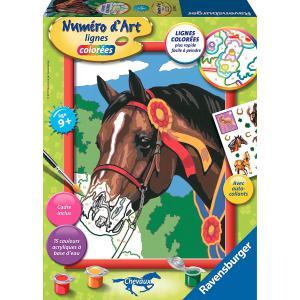 Ravensburger - 28592 - Numéro d'art Cheval à la cocarde- moyen format collection chevaux (341558)