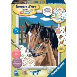 Ravensburger - 28603 - Numéro d'art Tendresse - moyen format collection chevaux (341570)