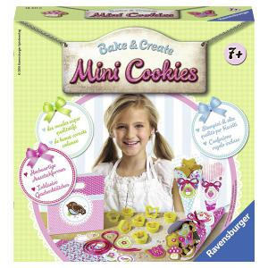 Ravensburger - 18411 - Ravensburger Kit de cuisine : Bake & Create Mini Cookies  (341604)