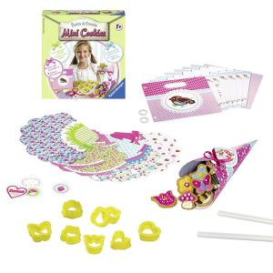 Ravensburger - 18411 - Ravensburger Kit de cuisine : Bake et Create Mini Cookies  (341604)