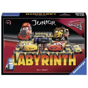 Ravensburger - 21273 - Jeux de société enfants - Labyrinthe Junior Cars 3 - Jeux de réflexion (341650)