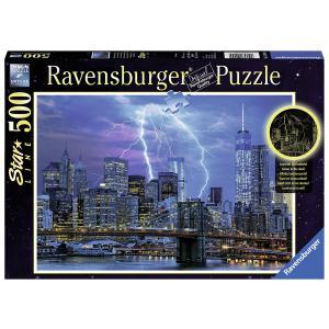 Ravensburger - 14909 - Puzzle 500 pièces - Star Line Collection - Foudre sur New York (341660)