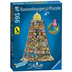 Ravensburger - 16098 - Puzzle silhouettes Collection - Phare merveilleux / Colin Thompson (341662)