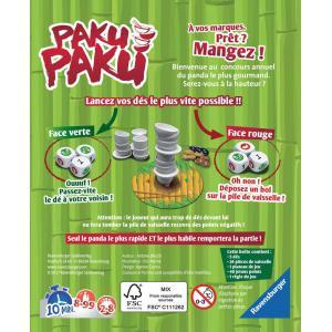 Ravensburger - 26726 - Jeux de société famille - Jeux d'ambiance -Paku Paku (341708)