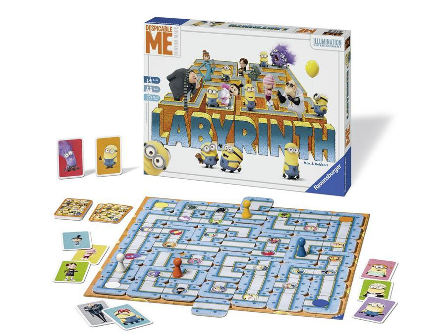ravensburger jeu de soci t famille labyrinthe moi. Black Bedroom Furniture Sets. Home Design Ideas