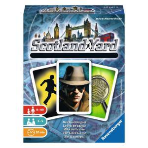 Ravensburger - 20787 - Jeu de société famille - Scotland Yard - Le jeu de cartes - Jeux de réflexion (341712)