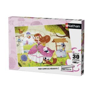 Nathan puzzles - 86356 - Puzzle 30 pièces - La princesse et ses amis (341728)