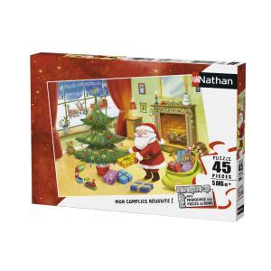 Nathan puzzles - 86468 - Puzzle 45 pièces - Un Noël animé EDITION NOEL (341736)