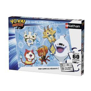 Nathan puzzles - 86604 - Puzzle 60 pièces - Mes amis les Yo-Kai / Yo-Kai Watch (341742)