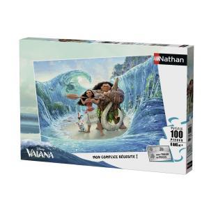 Nathan puzzles - 86746 - Puzzle 100 pièces - Nathan - Bienvenue chez Vaiana (341746)
