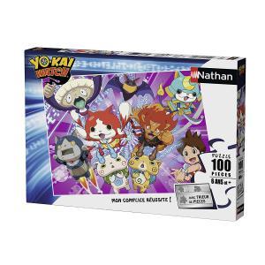 Nathan puzzles - 86745 - Puzzle 100 pièces - Nathan et les Yo-Kai / Yo-Kai Watch (341750)