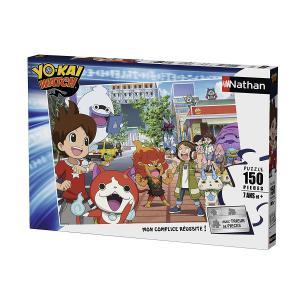 Nathan puzzles - 86822 - Puzzle 150 pièces - A la recherche des Yo-Kai / Yo-Kai Watch (341754)