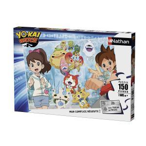 Nathan puzzles - 86827 - Puzzle 150 pièces - Nathan et Katie / Yo-Kai Watch (341756)