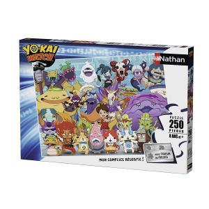 Nathan puzzles - 86942 - Puzzle 250 pièces - Yo-Kai Watch (341762)