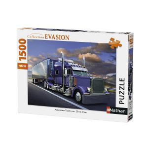 Nathan puzzles - 87782 - Puzzle 1500 pièces - American truck (341776)