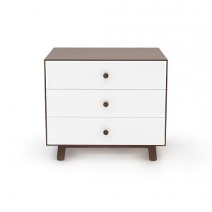 Oeuf NYC  - BU013 - Commode Merlin 3 tiroirs base SPARROW noyer (341848)