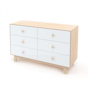 Oeuf NYC  - BU006 - Commode Merlin 6 tiroirs base SPARROW naturel (341864)