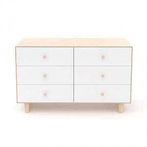 Oeuf NYC  - BU003 - Commode Merlin 6 tiroirs base RHEA naturel (341868)