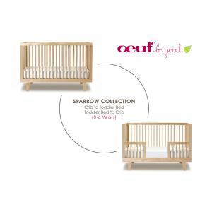 Oeuf NYC  - 4SPCK01-EU - Kit de conversion pour lit bébé Sparrow blanc (341884)