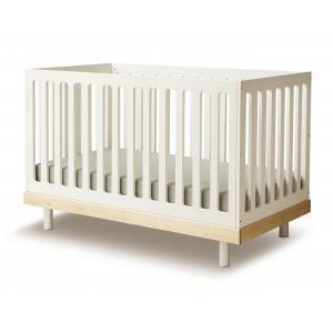 Oeuf NYC  - 2CR001-EU - Lit bébé à barreaux Classic en bouleau naturel (341908)