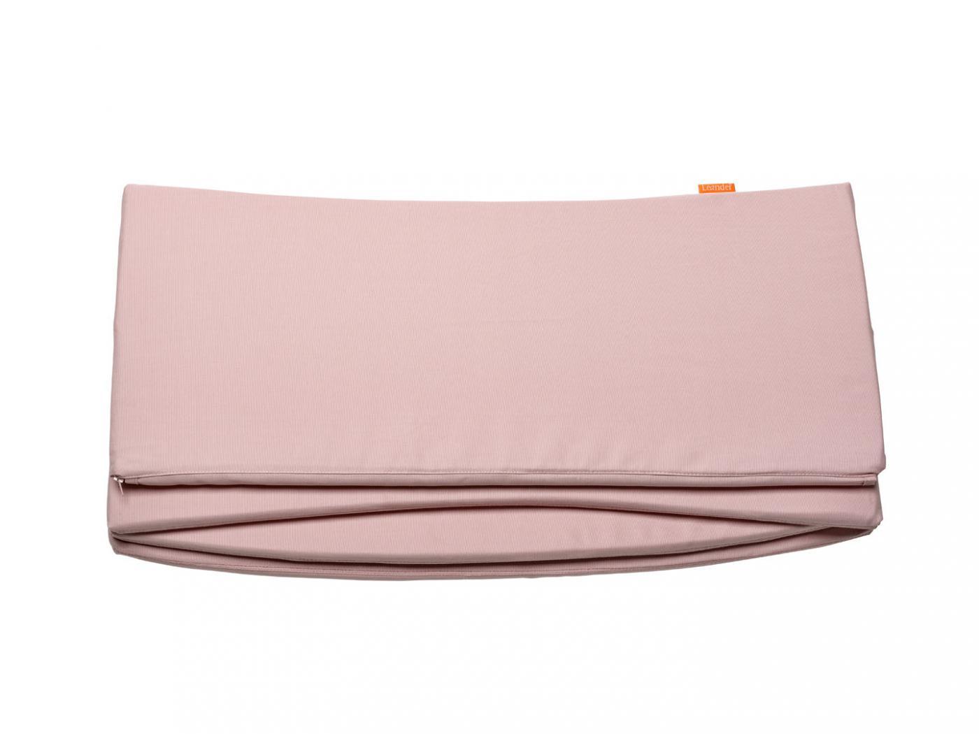 leander tour de lit rose pale pour lit b b volutif. Black Bedroom Furniture Sets. Home Design Ideas