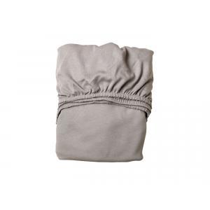 Leander - 501861 - Draps Housse bébé, Gris clair pour lit bébé évolutif (342070)
