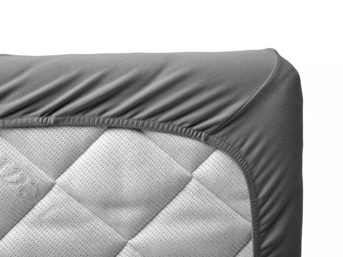 Leander draps housse b b gris clair pour lit b b volutif for Drap housse 90x140 pour lit evolutif