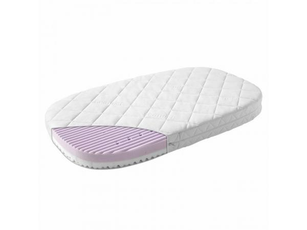 leander matelas b b ovale 66x116 comfort 7 pour lit b b volutif. Black Bedroom Furniture Sets. Home Design Ideas
