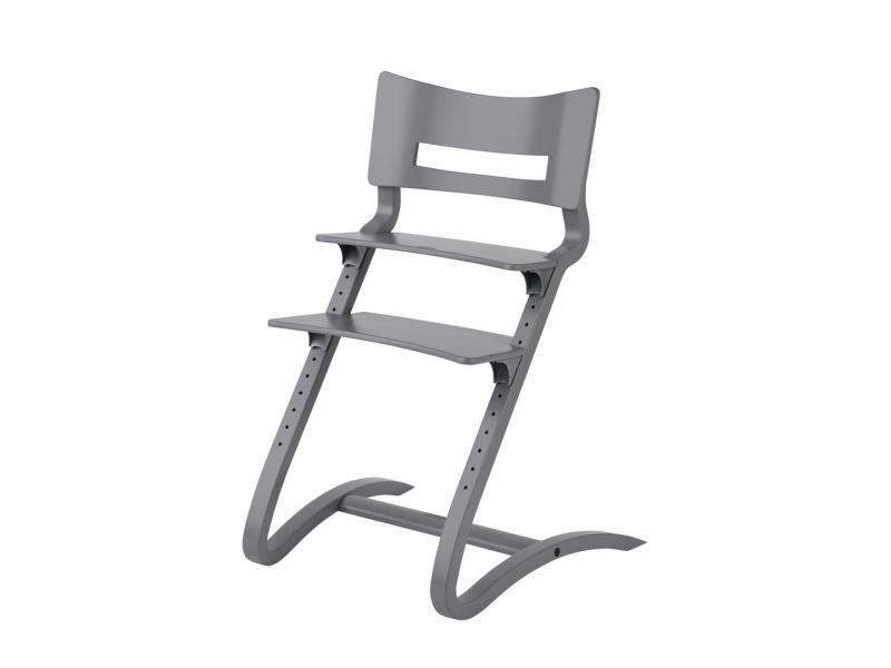 leander chaise haute grise. Black Bedroom Furniture Sets. Home Design Ideas