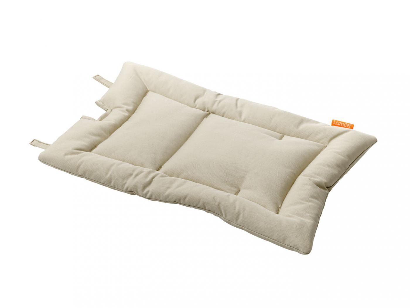 leander coussin chaise haute vanille. Black Bedroom Furniture Sets. Home Design Ideas