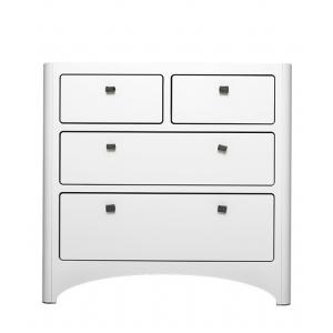 Leander - 630000-03-box1 - Commode 4 Tiroirs Blanche Box 1 (342128)