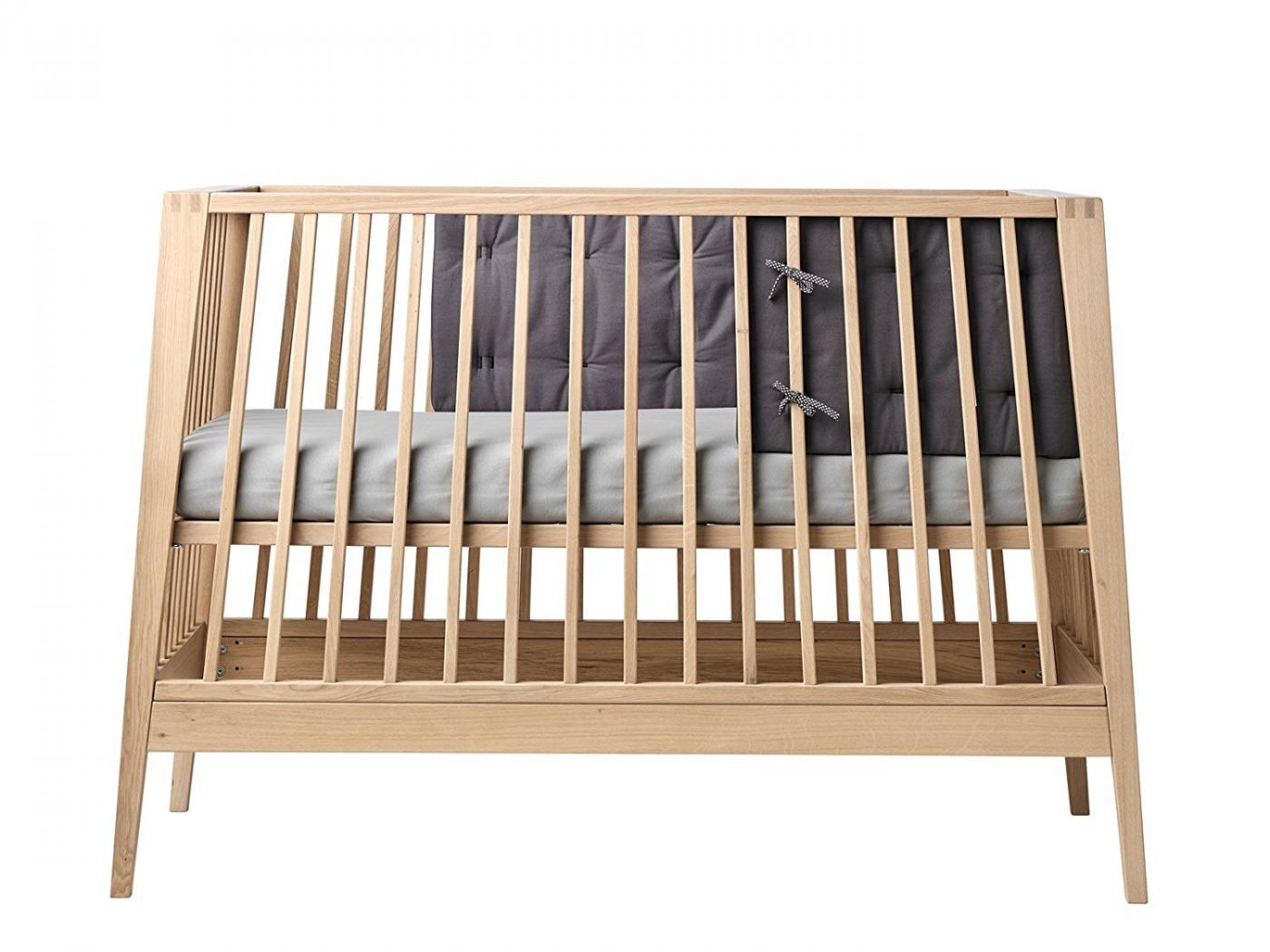 leander tour de lit gris anthracite pour lit b b linea. Black Bedroom Furniture Sets. Home Design Ideas