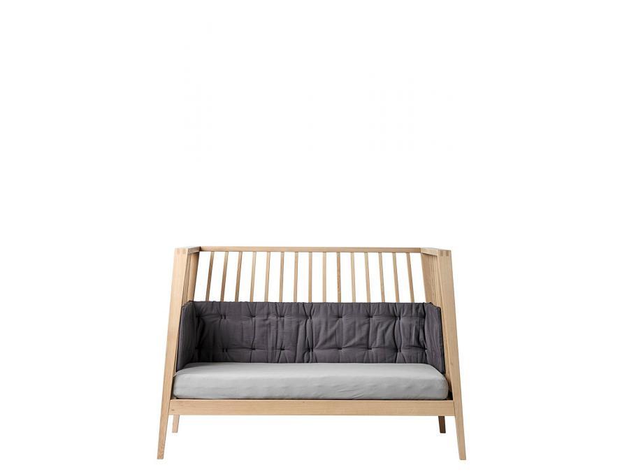 leander tour de lit linea gris anthracite. Black Bedroom Furniture Sets. Home Design Ideas