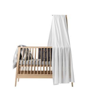 Leander - 502097 - Voile de lit, Blanc pour lit bébé Linea (342172)