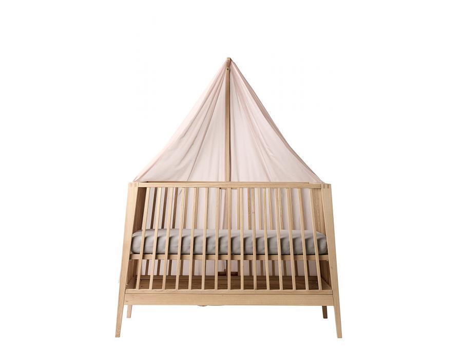 leander voile de lit b b linea rose. Black Bedroom Furniture Sets. Home Design Ideas