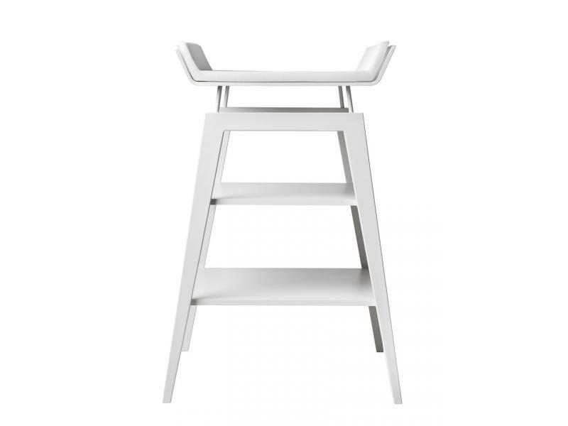 leander table langer linea avec matelas en h tre blanche. Black Bedroom Furniture Sets. Home Design Ideas