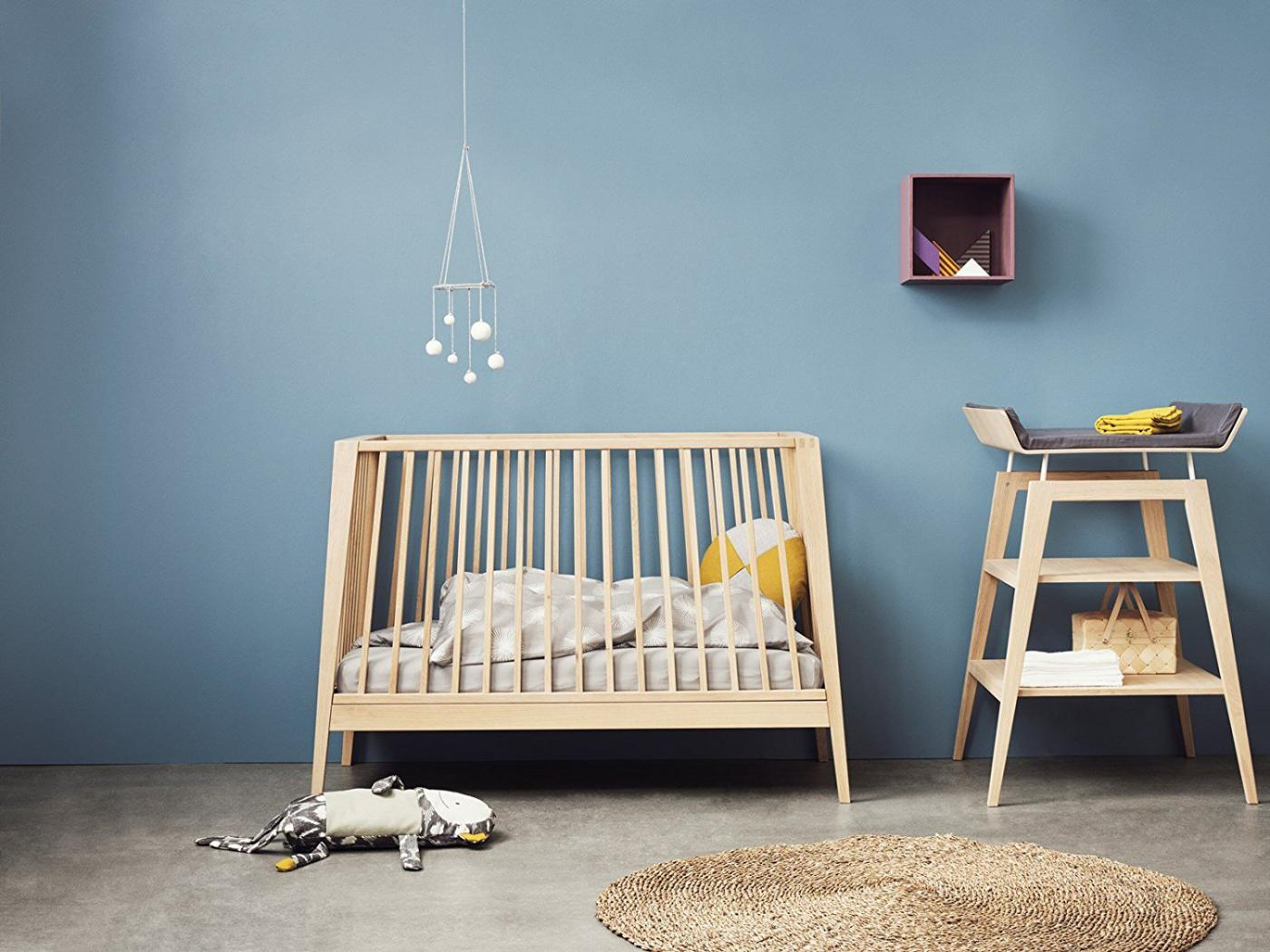 leander housse de matelas langer gris anthracite pour. Black Bedroom Furniture Sets. Home Design Ideas
