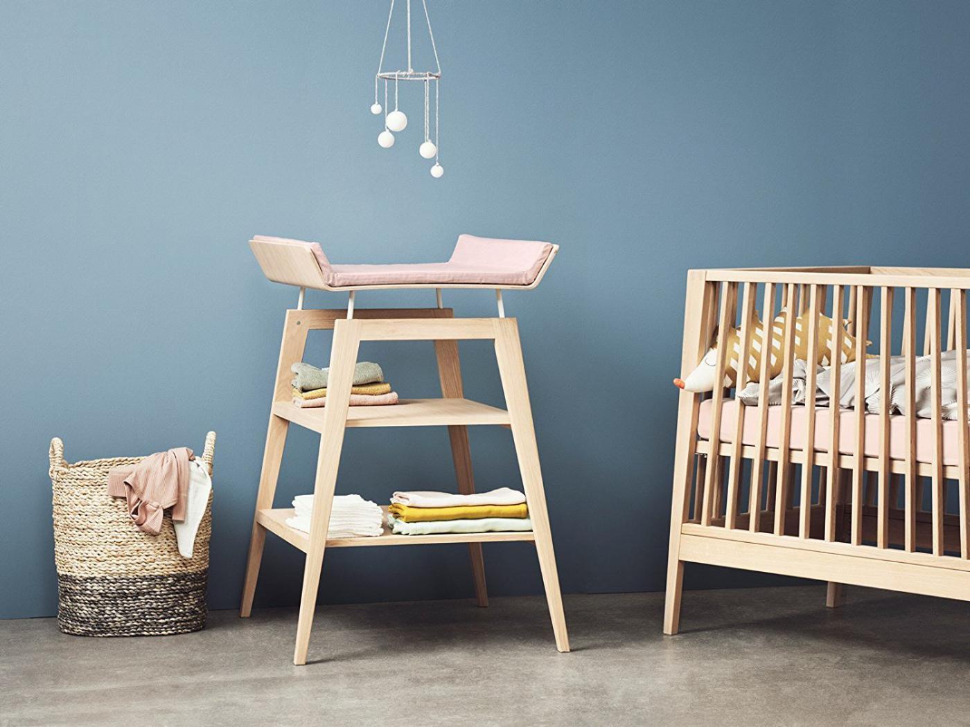 leander housse matelas langer rose p le pour table. Black Bedroom Furniture Sets. Home Design Ideas