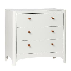 Leander - BU5 - Commode 4 Tiroirs Blanche (342238)