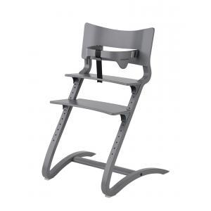 Leander - BU35 - Chaise haute evolutive et  Arceau de sécurité Gris (342298)
