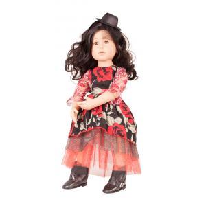 Gotz - 1766244 - Poupée articulée 50 cm Charlotte, cheveux noirs, yeux bruns (342350)
