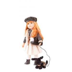 Gotz - 1759086 - Poupée 50 cm Hannah and her dog, 12-pcs. (342358)