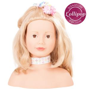 Gotz - 1792055 - Signature Edition - Lollipop 50-pcs avec séchoir, cheveux blonds, yeux marrons (342360)